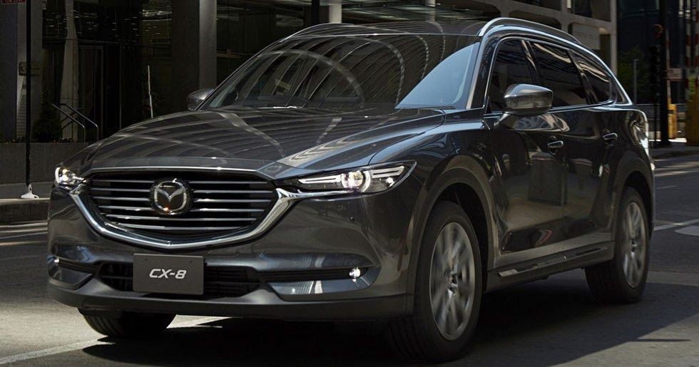 2018 Mazda CX8 Unveiled With A Diesel Engine Carscoops
