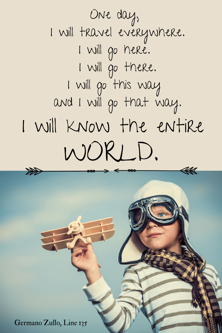 I will know the entire world Travel Quotes