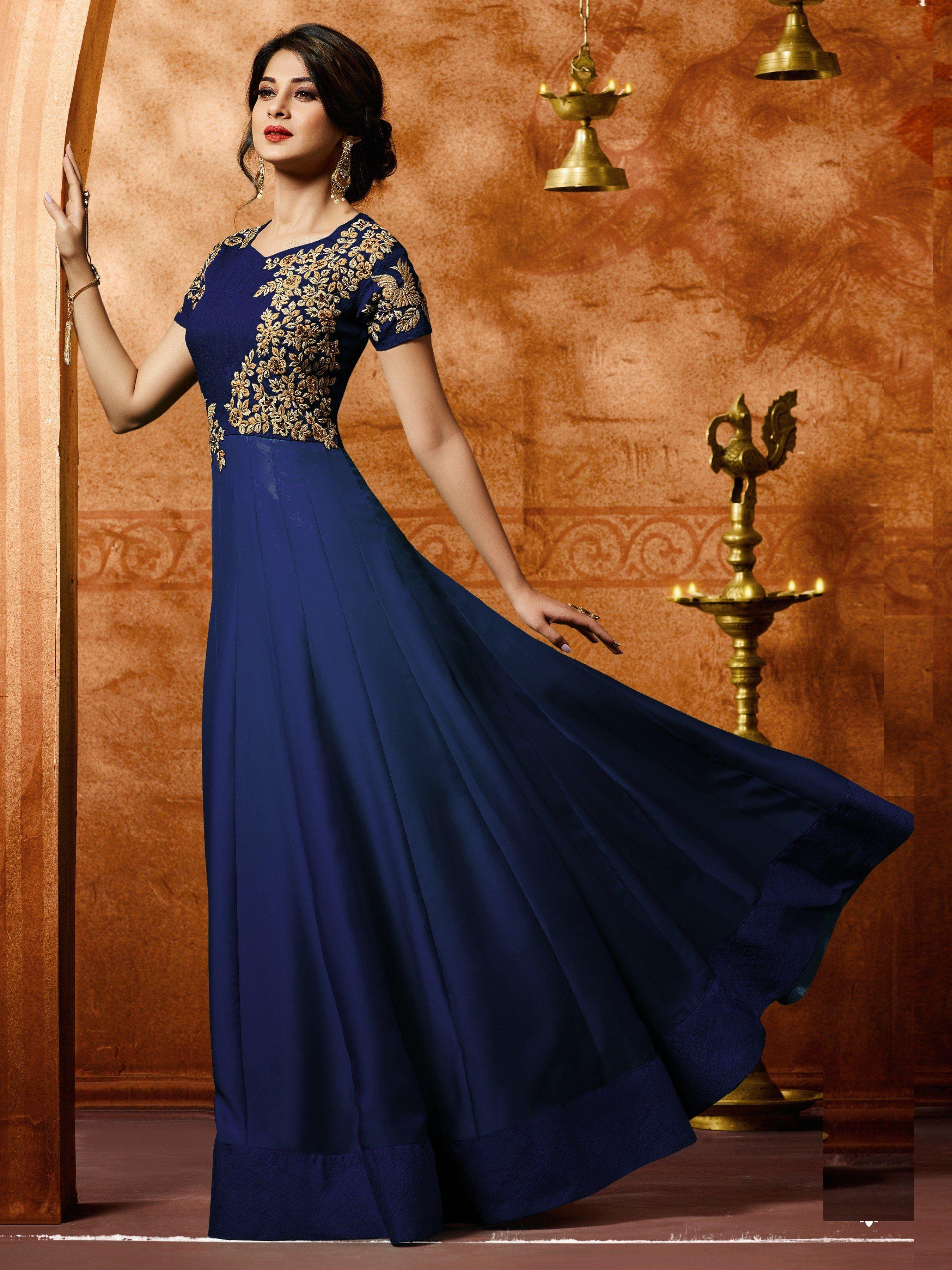 #Siya #Fashion #Jennifer #Winget #Blue #Party #Wear # ...