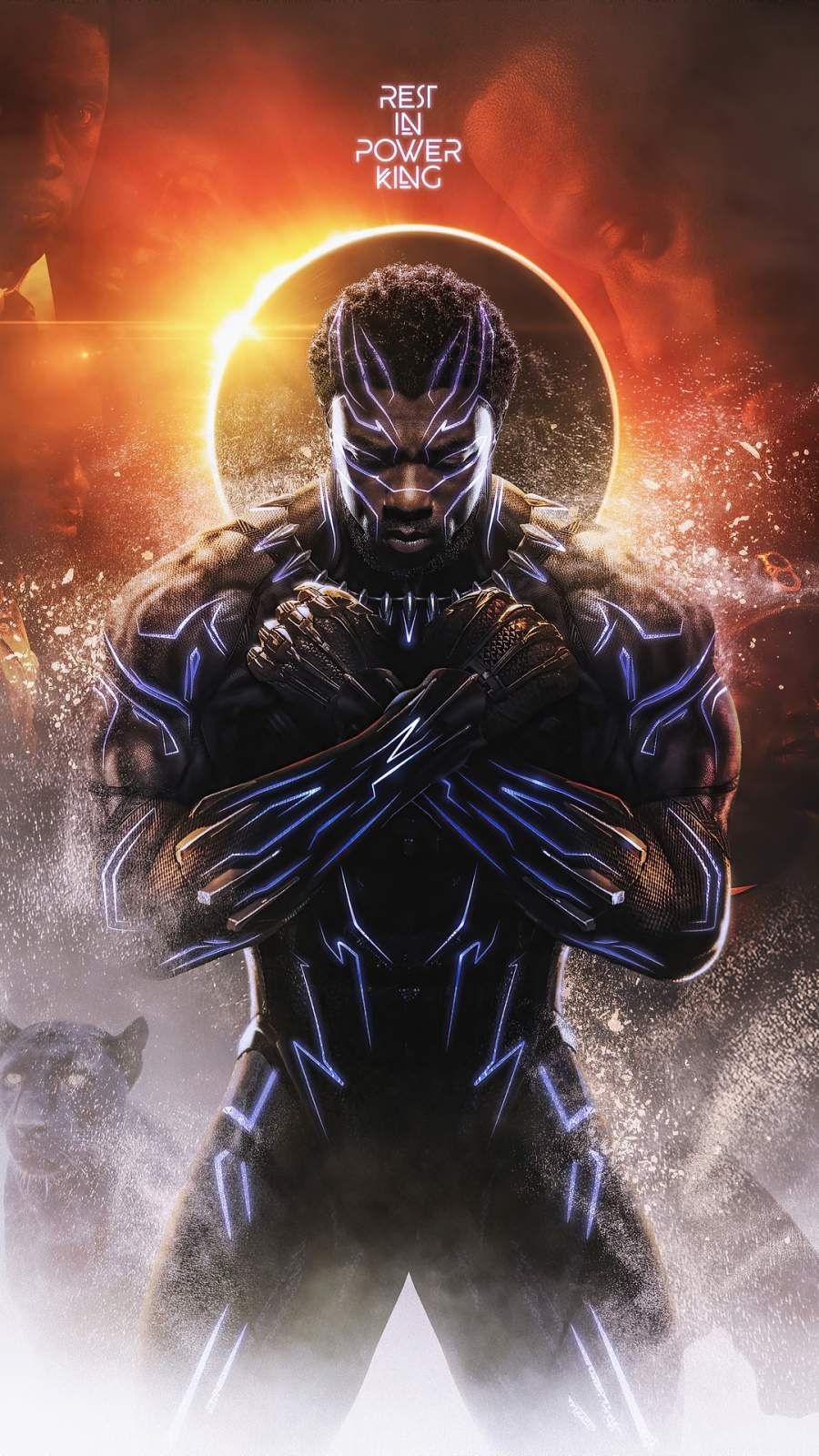 Black Panther Wakanda King iPhone Wallpaper - iPhone Wallpapers