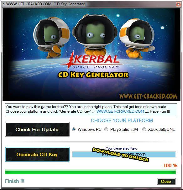 Kerbal Space Program CD Key Generator 2016
