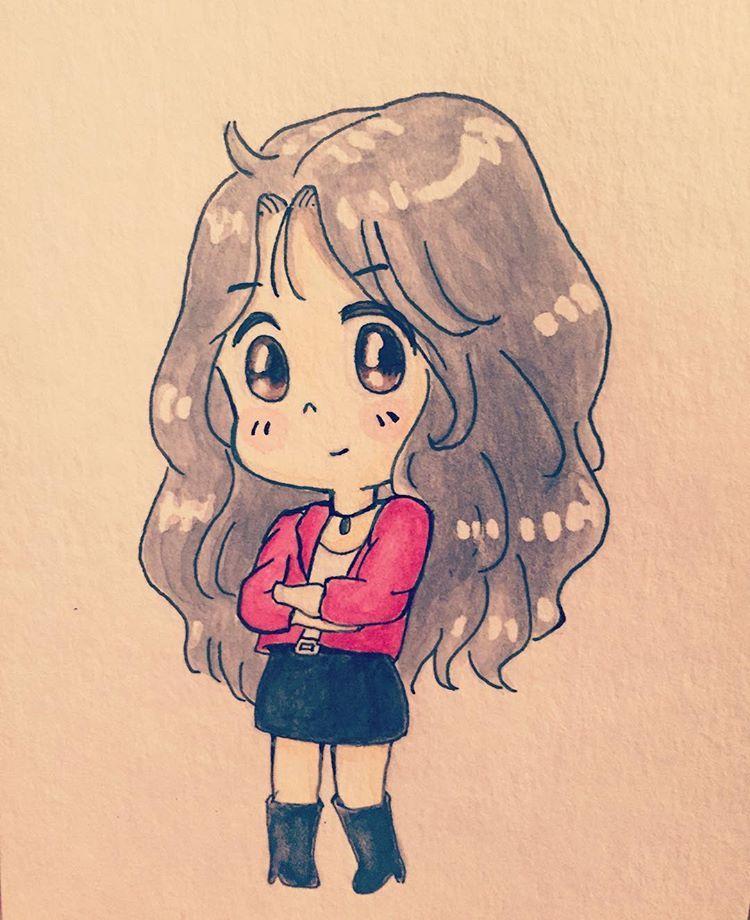 taeyeon i redrawing pic thanks for jujjr rpg s origional pic desenhando desenhosnsdchibikpopaquarelasfanart