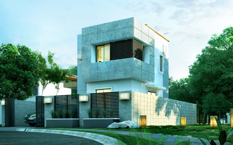 Pinoy House Design 2015020 Is A Two Story Modern Which Part Of Our