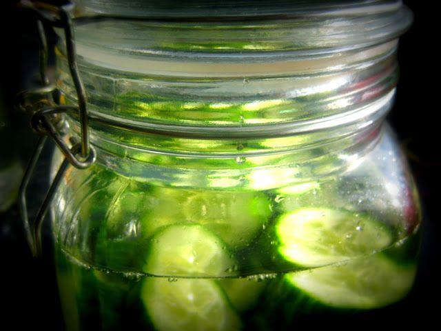 Flour Water Dirt & Rain: Cucumber Gin Gimlet