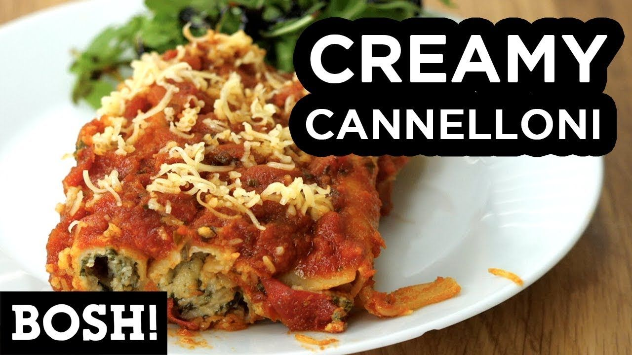 Creamy cannelloni bosh vegan recipe youtube bosh food food creamy cannelloni bosh vegan recipe youtube forumfinder Image collections