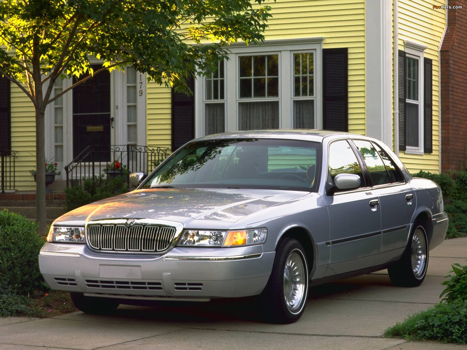 1998 Mercury  Wallpapers of Mercury Grand Marquis 19982003 1600