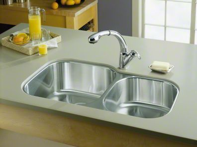 Undertone Extra Large Medium Undermount Kitchen Sink K 3356 Kohler Kohler Stainless Steel Kitchen Sink Sink Stainless Steel Kitchen