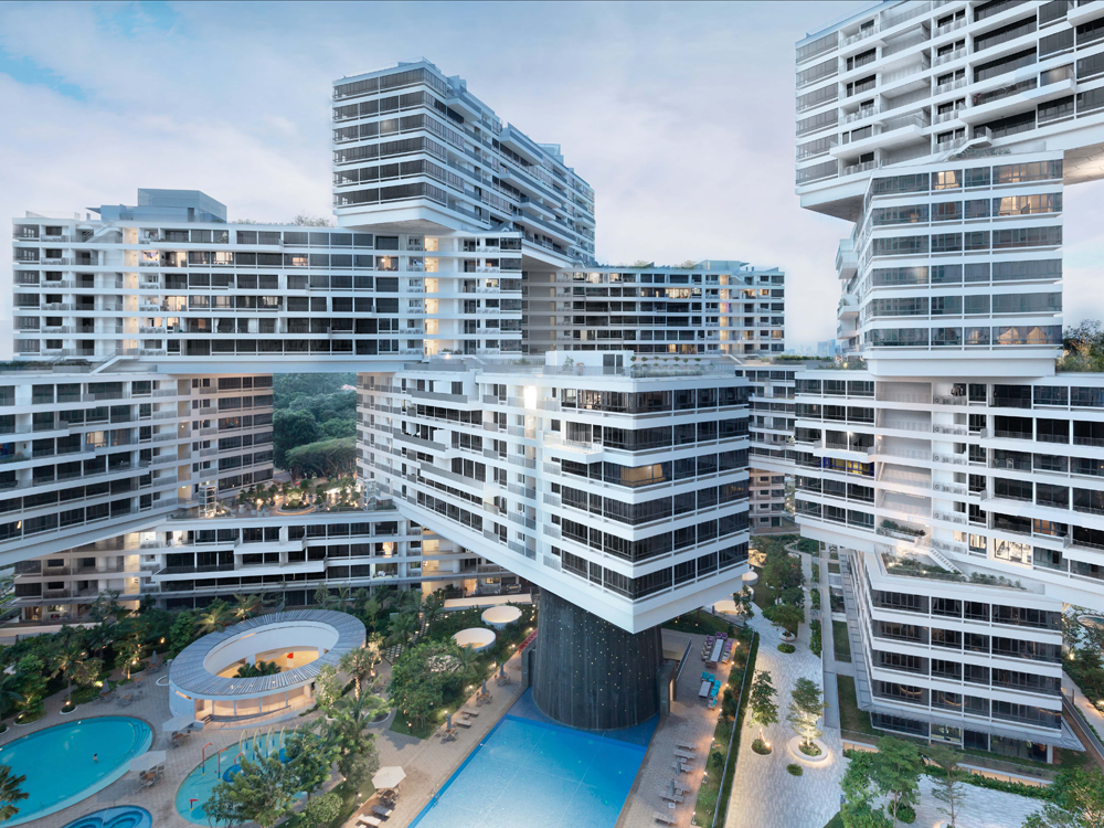 Cool Apartment Buildings. This Singapore apartment complex was just voted the best new building in  world
