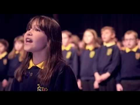 Killard House Special School choir singing Hallelujah Test