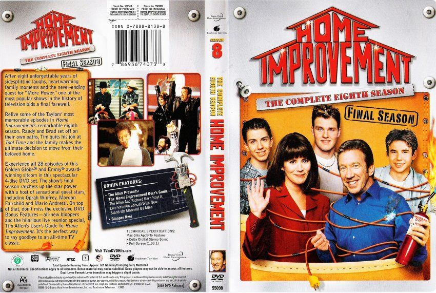 Home Improvement Complete Series Dvd
