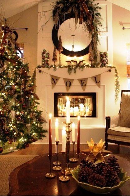 21 Amazing Christmas Fireplace Decor Ideas Christmas fireplace - christmas fireplace decor