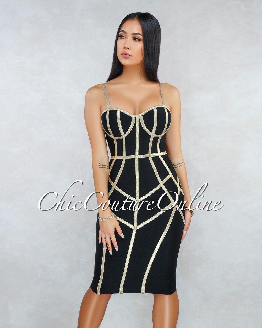 bandage klänning online