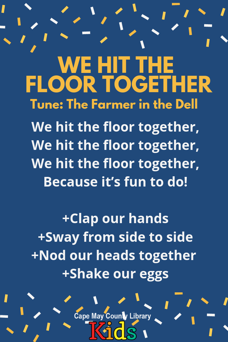 We Use This Rhyme To Practice Movement