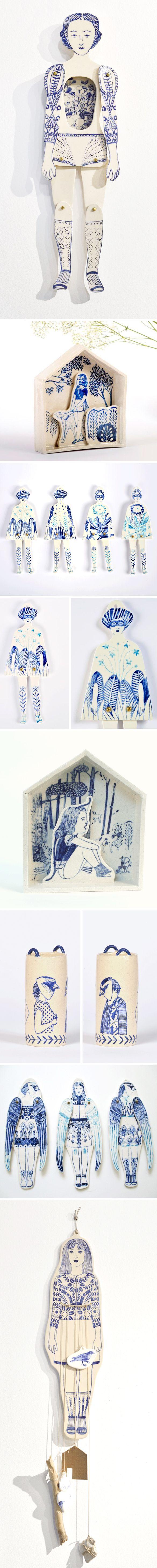 Porcelain Paper Doll!