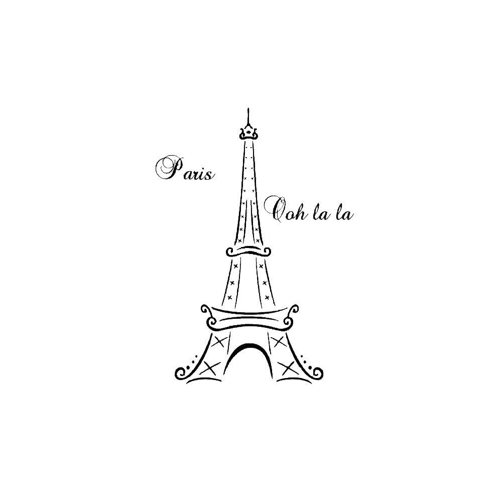 Genial EIFFEL TOWER Paris France Ooh La La Quote