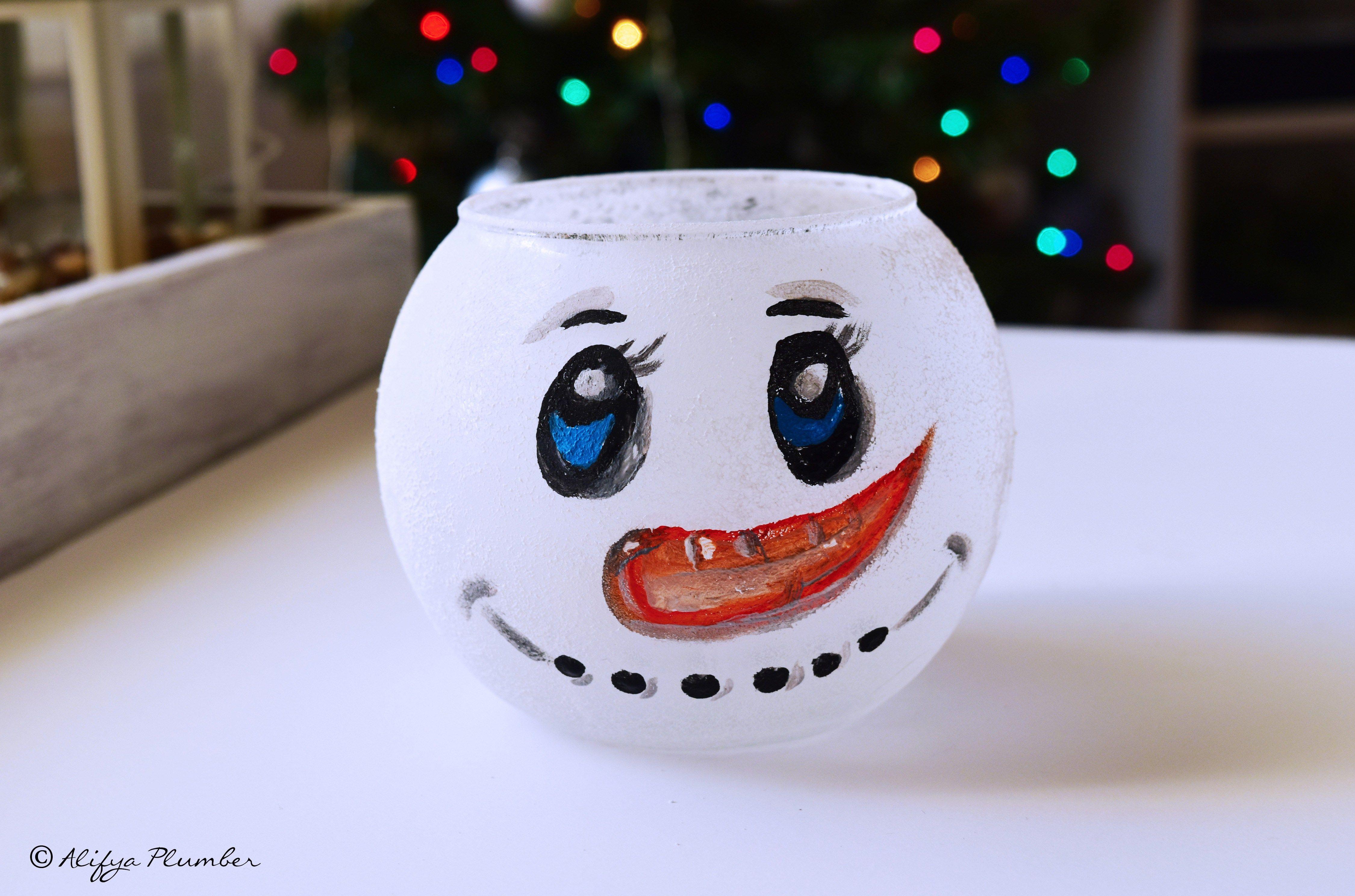 Christmas DIY Series Part 1 DIY Glass Jars Christmas DIY Series
