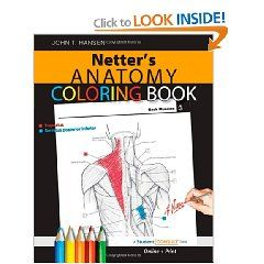 Netter`s Anatomy Coloring Book: with Student Consult Access (Netter ...