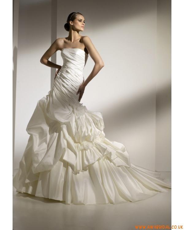 ivory strapless Wedding Dress  Mercadal