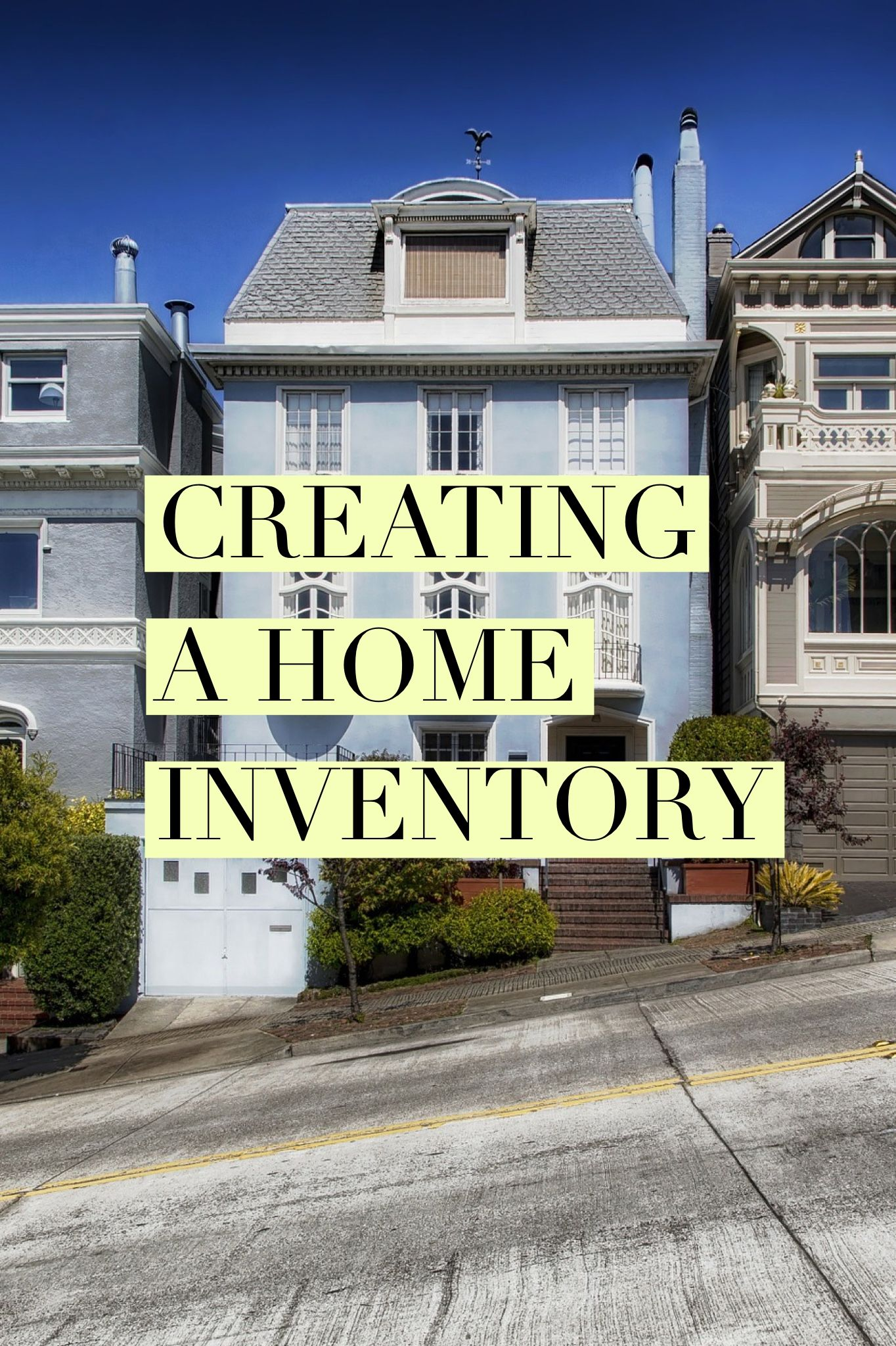 Creating a Home Inventory   Blogs by On Task Organizing