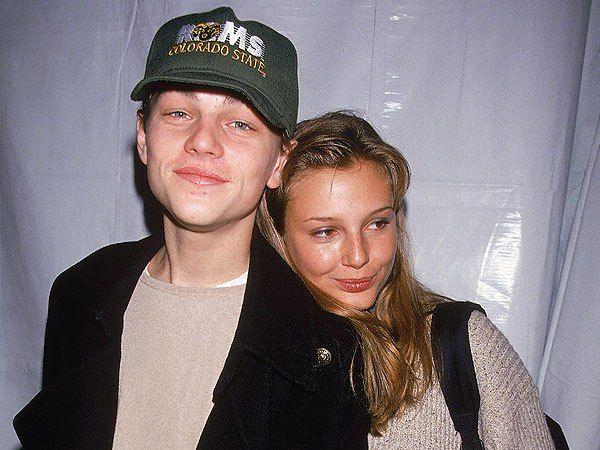 Leonardo DiCaprio and Bridget Hall