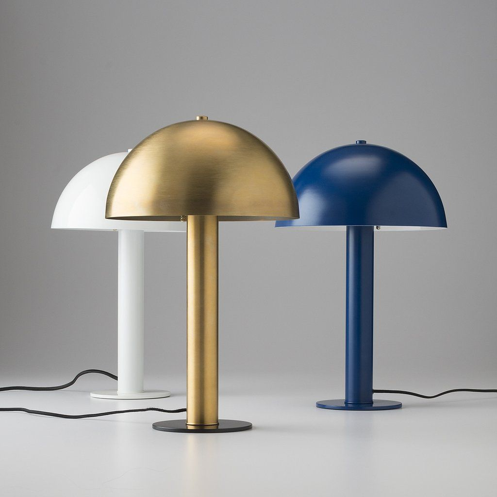 Blue floor lamp  Sidnie Lamp  Royal Blue  Schoolhouse electric Lights and Floor lamp