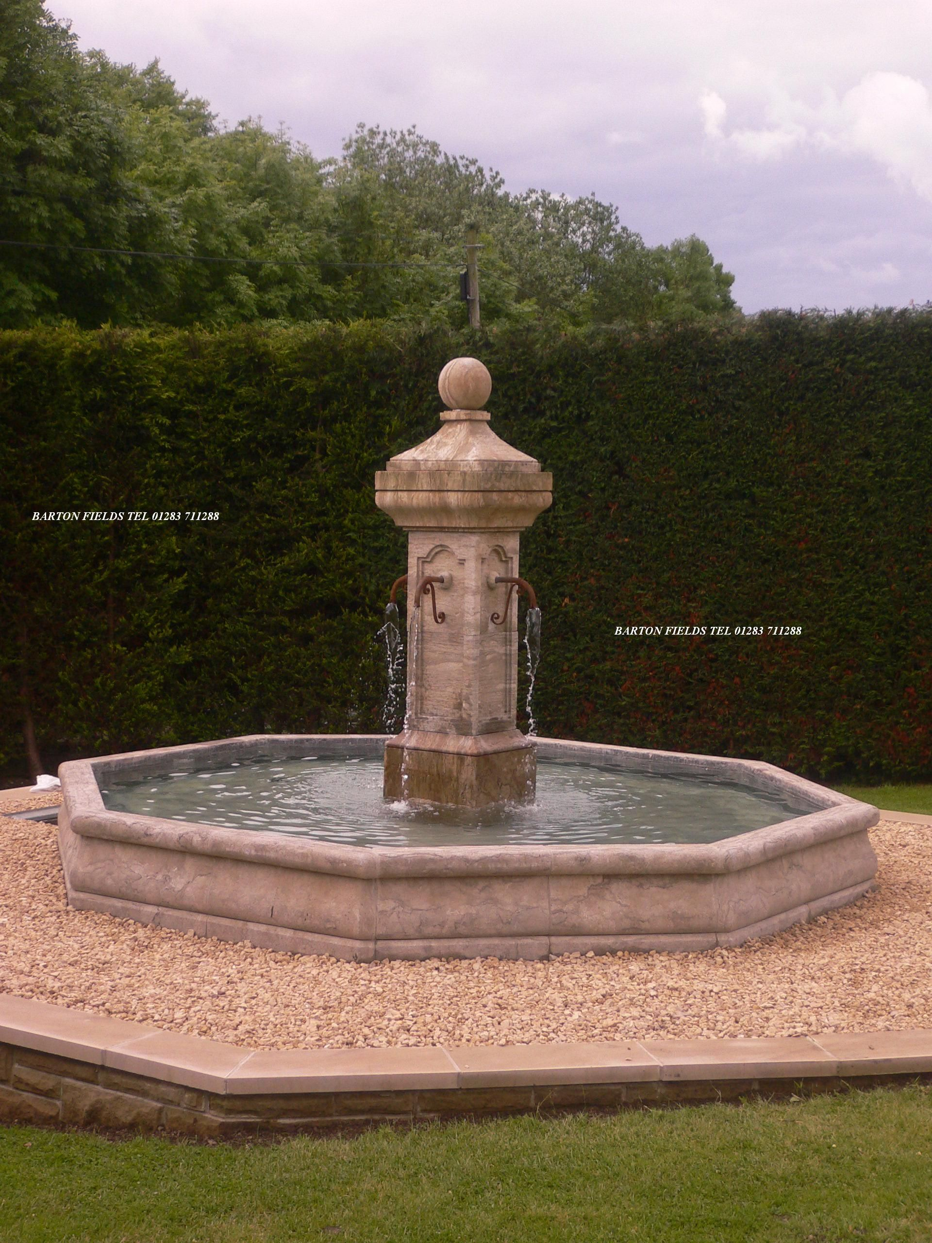 We supplied this French Style Fountain to a customer who