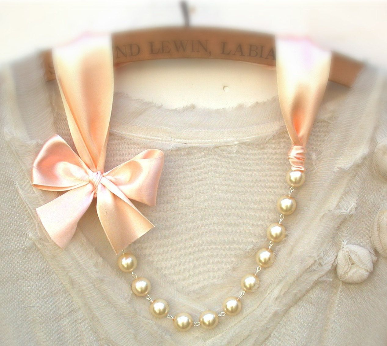 designer in necklace jewelry pearl from on grey item multilayer ribbon group accessories satin luxury necklaces aliexpress choker faux alibaba com