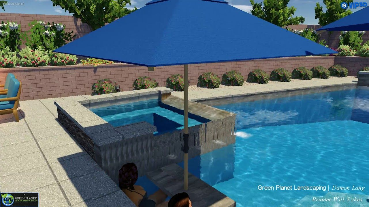 Vip3d 3d Swimming Pool Design Software Swimming Pool Designs