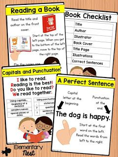 Mastering Print Concepts - First Grade Common Core ...