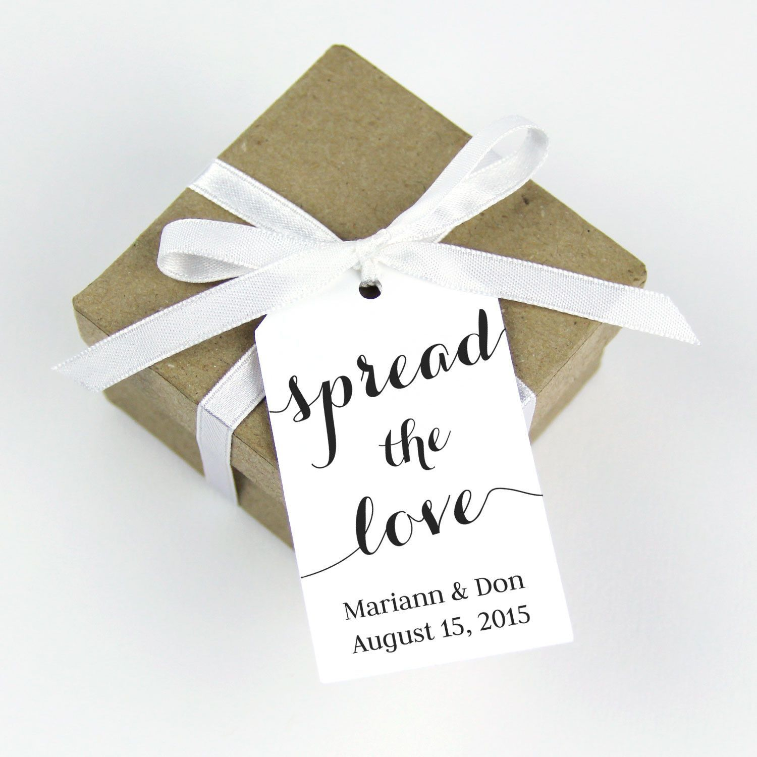 spread the love wedding favor tag | Wedding Favor Tags | Pinterest ...