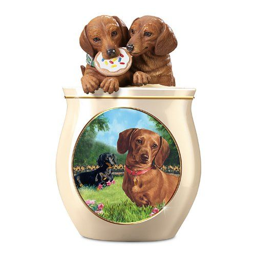 Radiance of the Amethyst Dachshund Dog Figurine Bradford Exchange