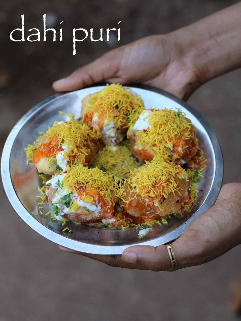 Dahi puri recipe how to make dahi batata puri with step by step pani puri recipe golgappa recipe puchka recipe with step by step photovideo recipe a popular street food of india with a spicy sweet and crispy taste forumfinder Choice Image
