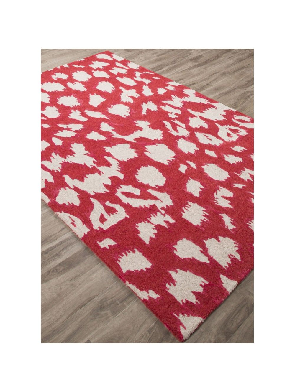 Kate Spade New York Gramercy Leopard Ikat Rug Red Rug Direct Rugs Jaipur Rugs