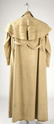 English Garrick greatcoat