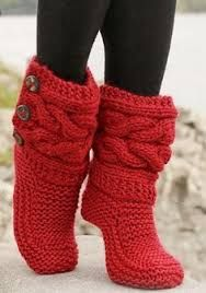 Image result for chaussette tricot
