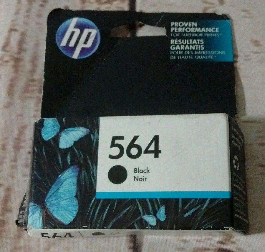 Genuine HP 564 Black Ink Cartridge #HP
