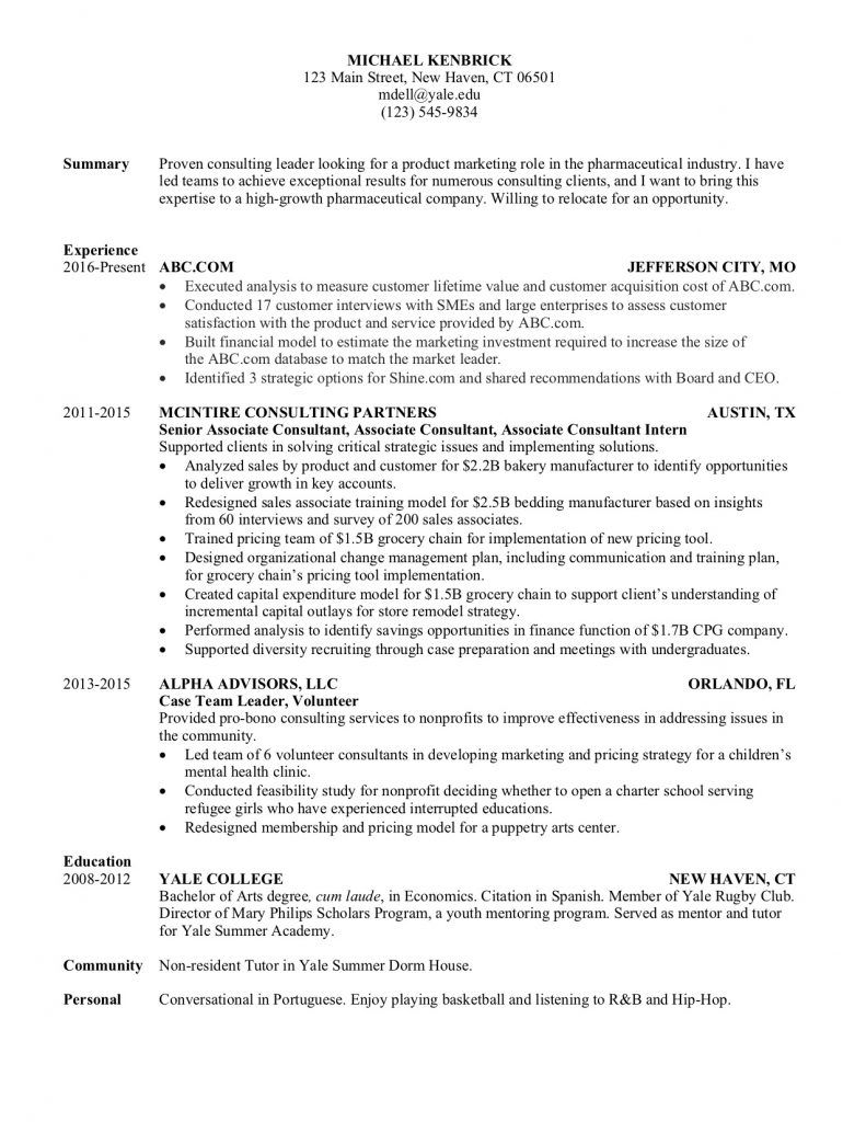 How To Make A Resume To Get A Higher Paying Job The