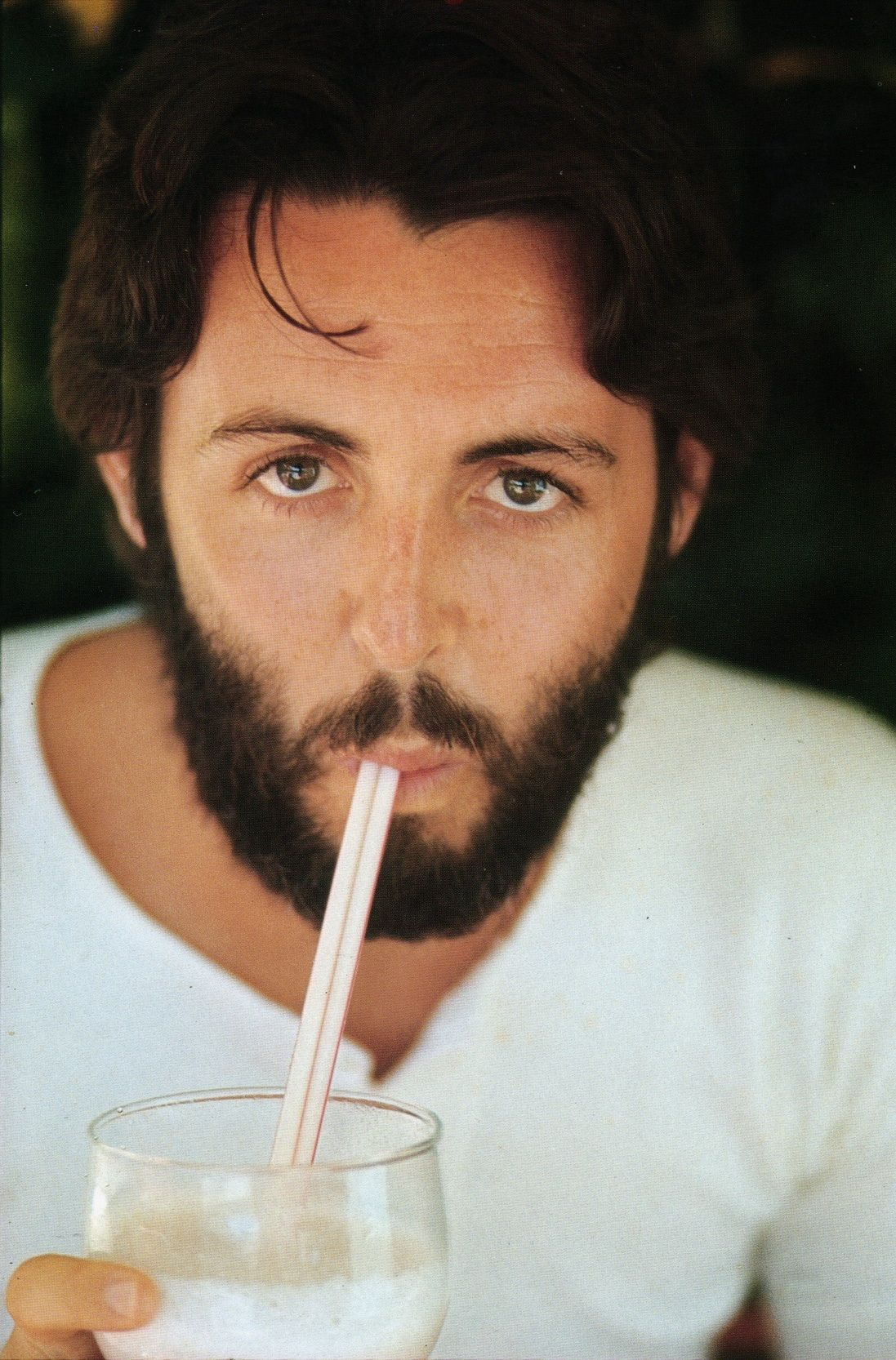 70s Paul McCartney (who is weirdly channeling Sylvester Stallone's eyes a little bit here)