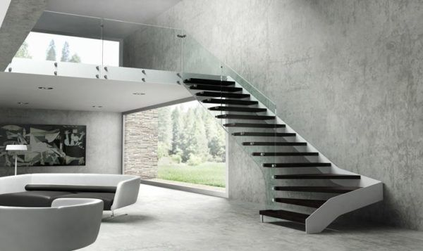 escaleras interiores Scala Pinterest Escaleras interiores