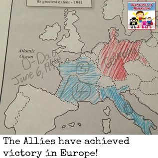 US history Victory in Europe the end of World War 2