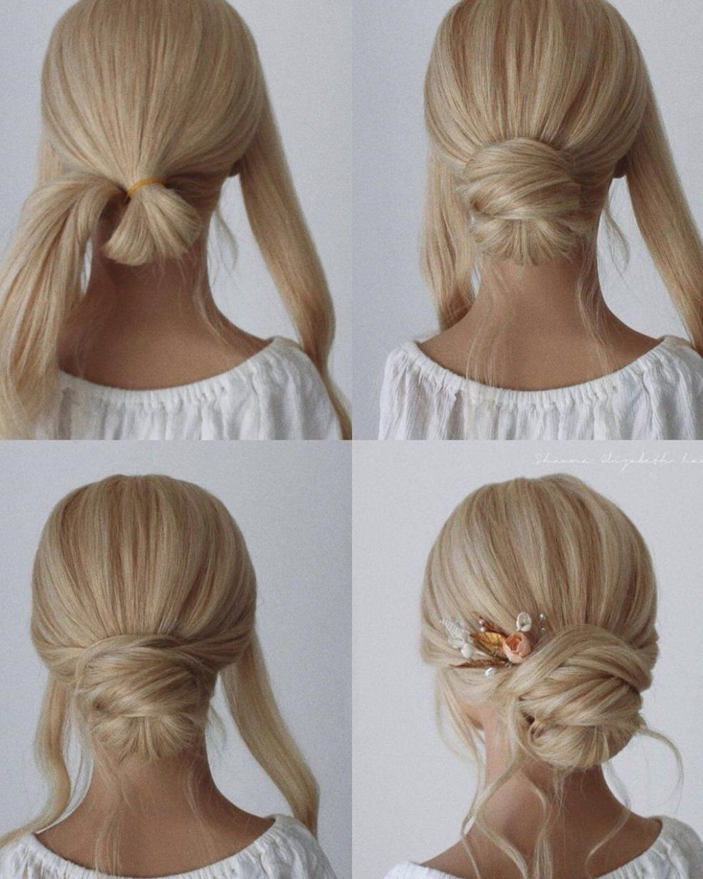 Hairstyle Ideas For Grade 8 Grad Hairstyle Ideas With Clips Hairstyle Ideas Medium Length Easy Hairstyle For Ideas In 2020 Grad Hairstyles Hair Tutorial Hair Styles