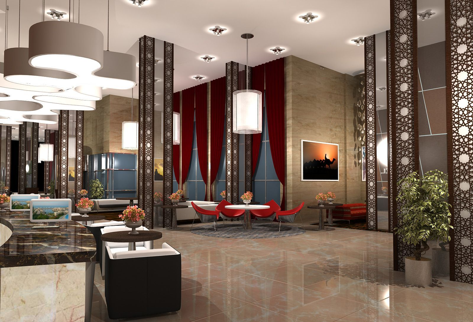Best 10 Astonishing Lobby Design Ideas That Will Greatly Admire 400 x 300