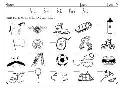 Fichas Infantiles Para Aprender A Leer Y Aprender A Escribir
