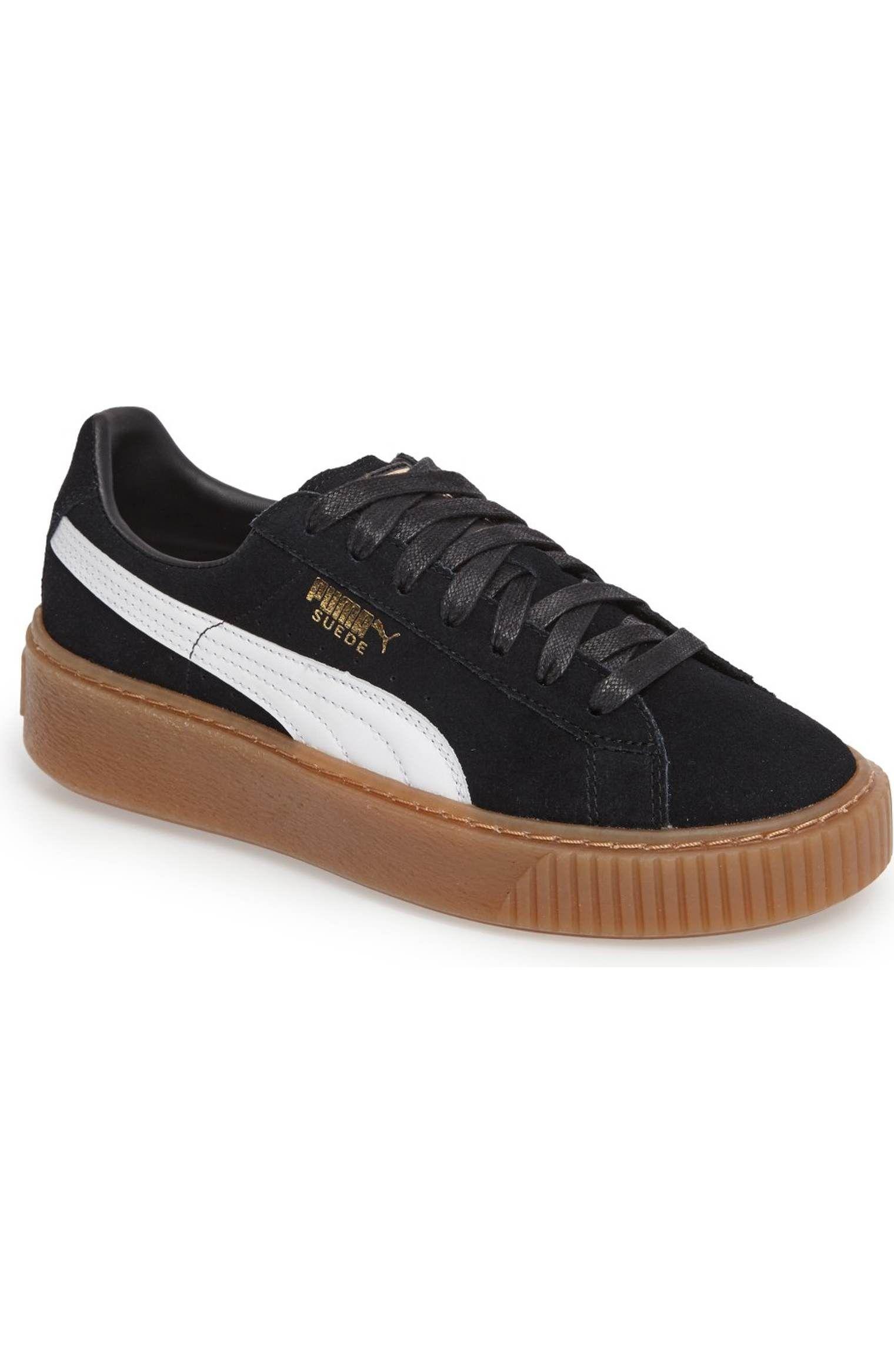 2aeaf0084d9 Main Image - PUMA Suede Platform Core Sneaker (Women)