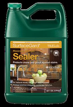 Tilelab Surfacegard Maximum Strength Penetrating Sealer For