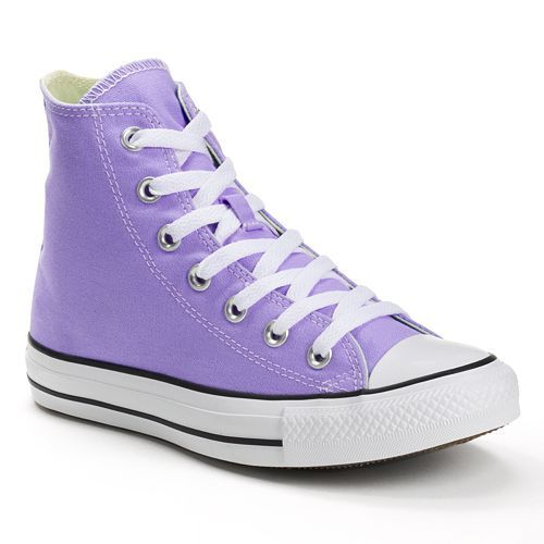 50366306619 Adult Converse All Star Chuck Taylor High-Top Sneakers frozen lilac