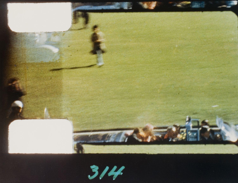 Stills from Zapruder film of JFK Assassination