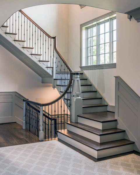 Impressive Stairs Pictures 2 Wood Stair Design Ideas: Top 70 Best Staircase Ideas