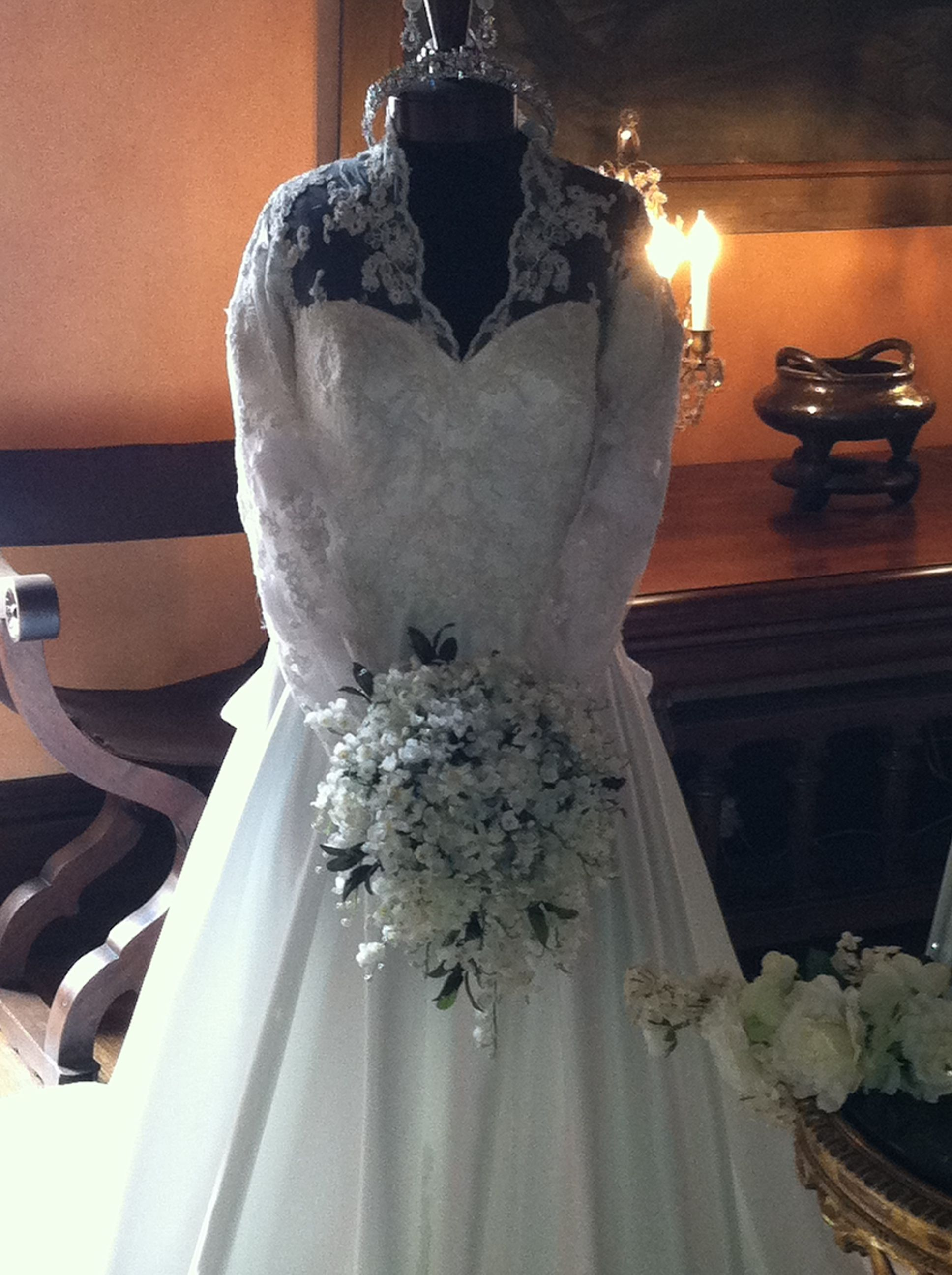 Replica of princess kateus dress wedding fashions through the