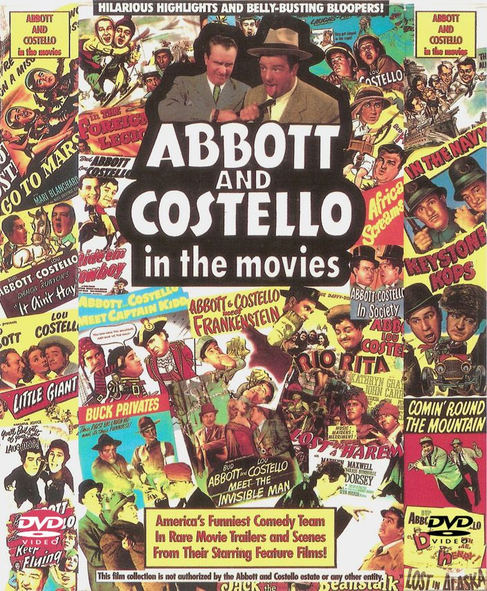 Abbott Costello Movie Posters Probably My Favorite Old Comedy